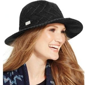 Calvin Klein Knit Panama Hat - Black